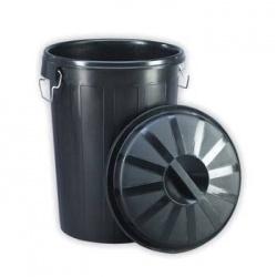 701 | Cubo de Basura Negro
