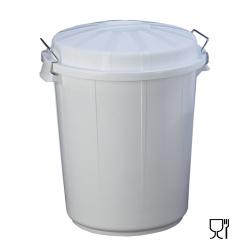 702 | Cubo de Basura Blanco