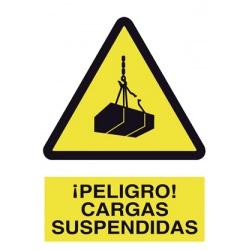 Peligro Carga Suspendida