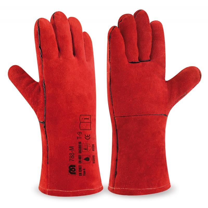 869c88683 Guantes, soldador, seguridad laboral, protección.
